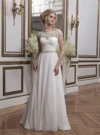 Классические свадебные платья: фото