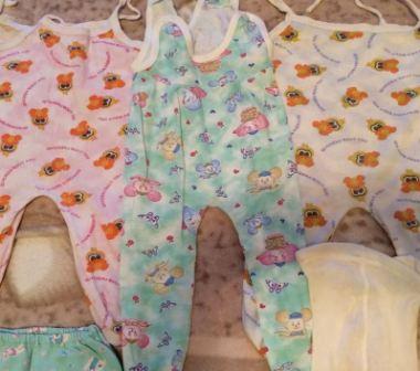 Какие вещи нужны новорожденному на первое время