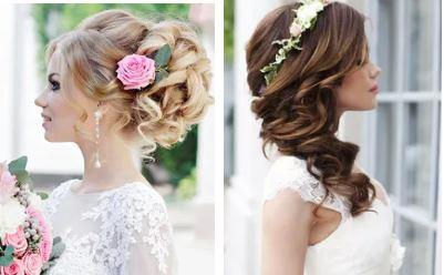 Прически на свадьбу невесте