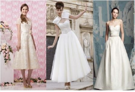 Ретро свадебные платья фото