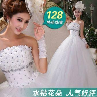Китай: свадебный платья оптом
