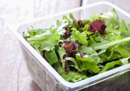 Как хранить листья салата в холодильнике долго