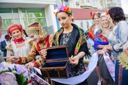 Свадьба в русском стиле:: фото