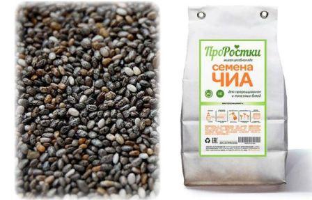 Семена чиа для здорового питания и похудения