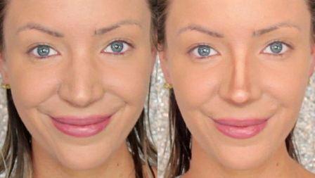 Как уменьшить нос с помощью макияжа в домашних условиях