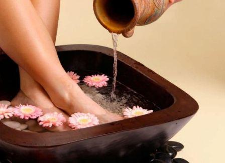 Ванночки для ног – особый уход и забота