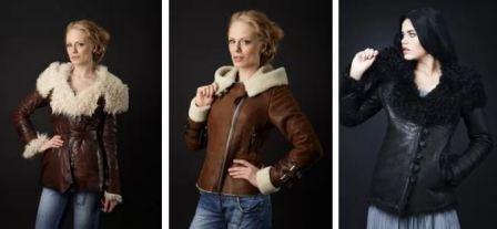 Grafinia, куртки и дублёнки из кожи и меха от магазина Графиня