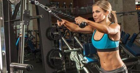 Правильный набор сухой мышечной массы для девушек